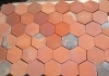 ceramic hexagon floor tiles