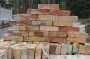 Reclaimed brick colours yellow - pink - rose